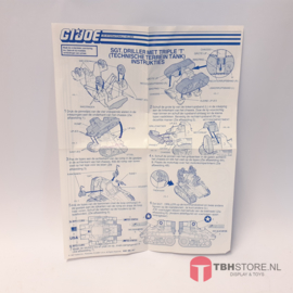 G.I. Joe Triple T Instrukties