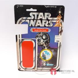 Vintage Star Wars Cardback Death Star Droid 20 back