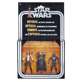 Star Wars Vintage Collection Premium  3-Pack Doctor Aphra Comic Set Exclusive