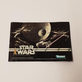 Star Wars Kenner 1977 - 1979 boekje