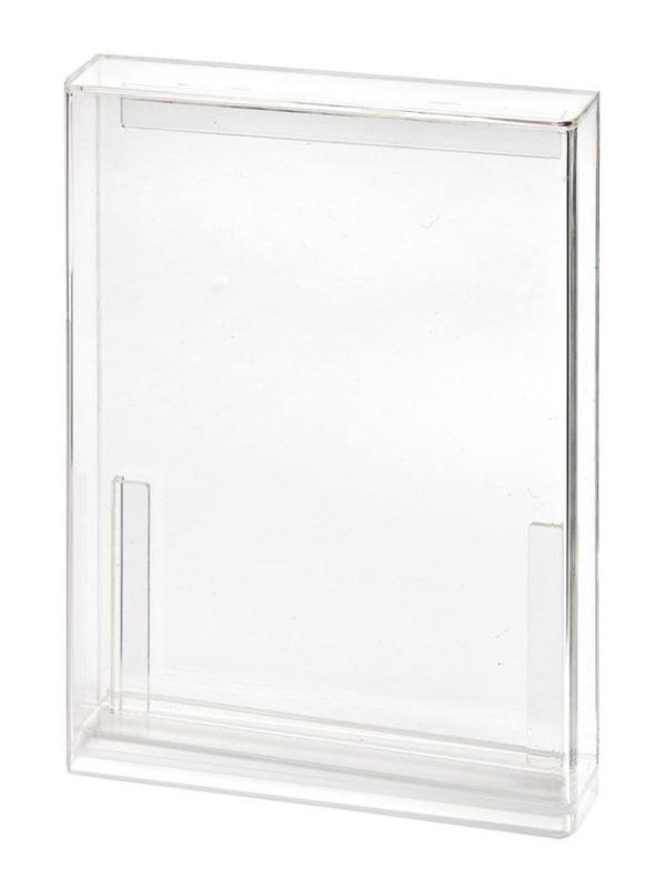 Carded Figure Display Case (Standaard bubbel diepte)