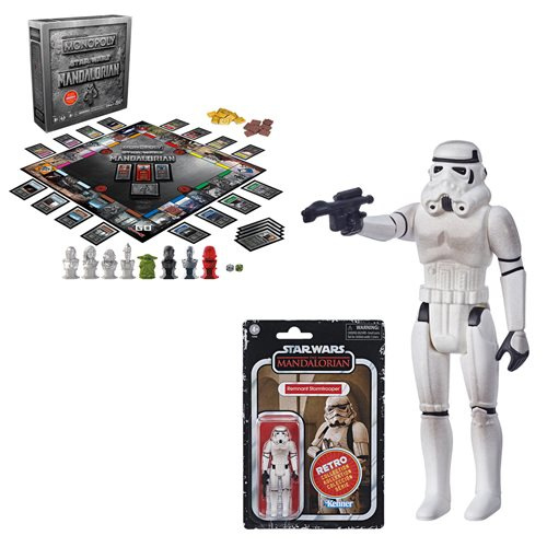Star Wars The Retro Collection Monopoly Collector's Edition with Remnant Stormtrooper