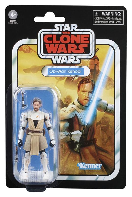 Star Wars Vintage Collection 2020 Wave 5 Obi-Wan Kenobi (The Clone Wars)