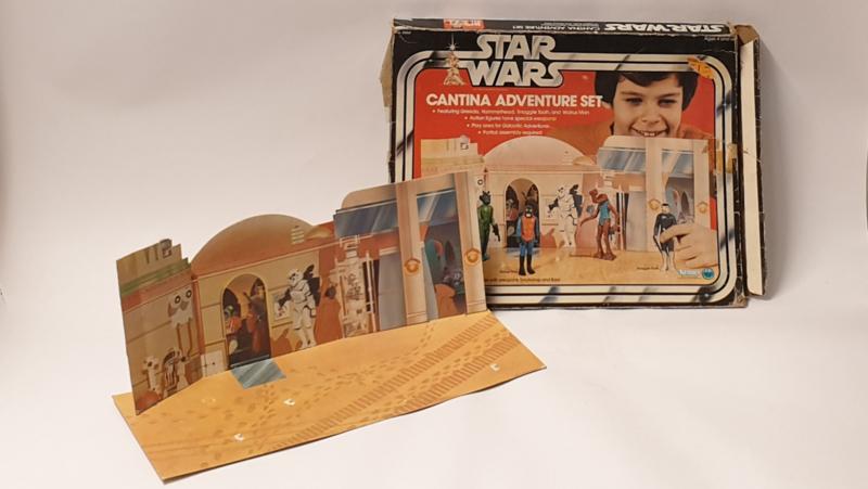 Star Wars Cantina Adventure Set met doos