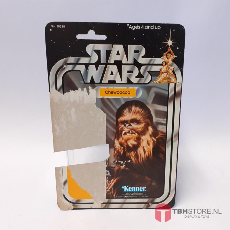 Vintage Star Wars Cardback Chewbacca 21 back