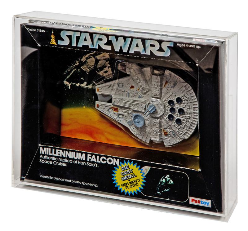 PRE-ORDER Star Wars & ESB Boxed Die Cast Vehicle Display Case