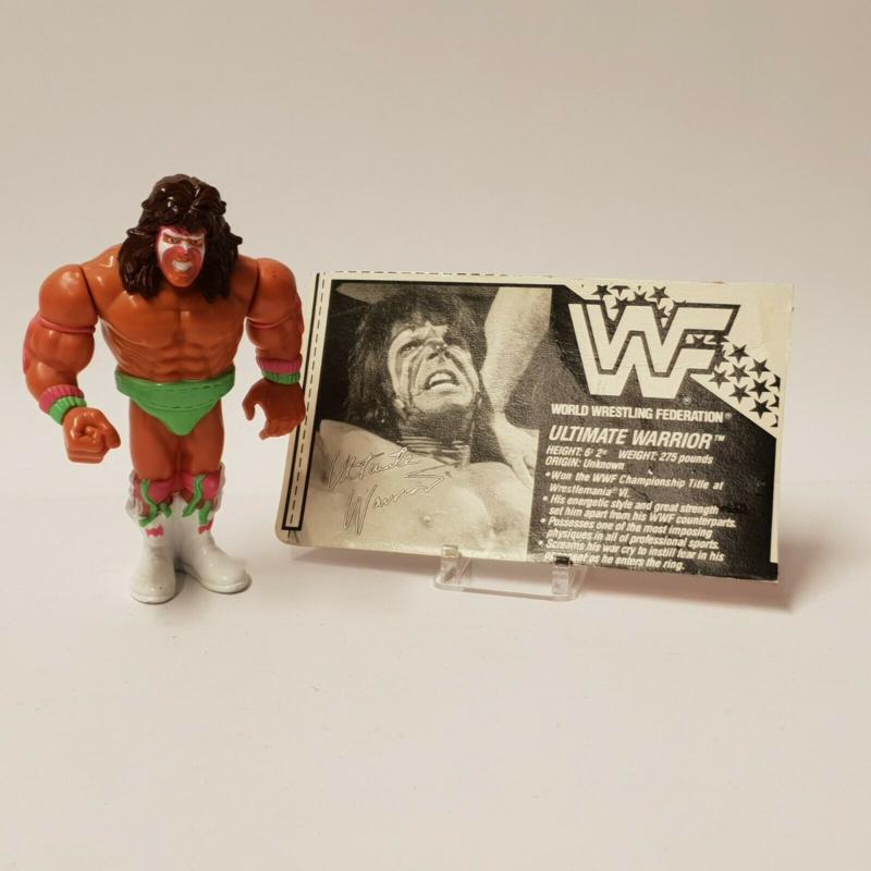 WWF Hasbro Series 1 Ultimate Warrior
