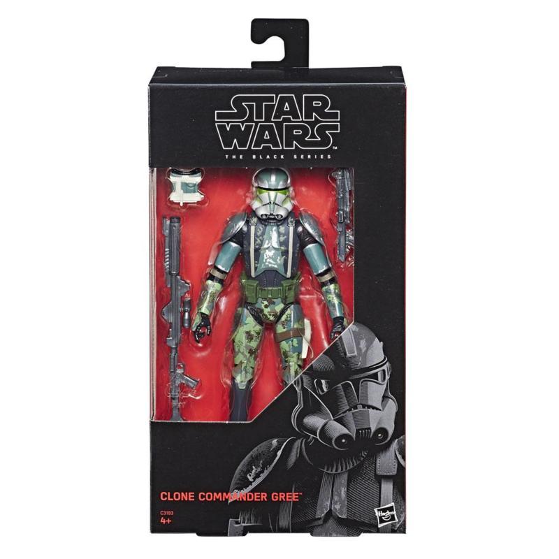 Star Wars Black Series Clone Commander Gree Exclusive