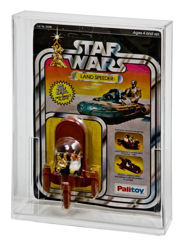 Star Wars & ESB Carded Die Cast Vehicle Display Case