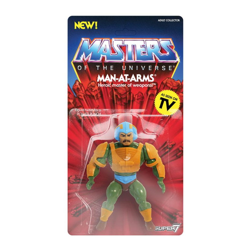 MOTU Masters of the Universe Vintage Collection Man-At-Arms