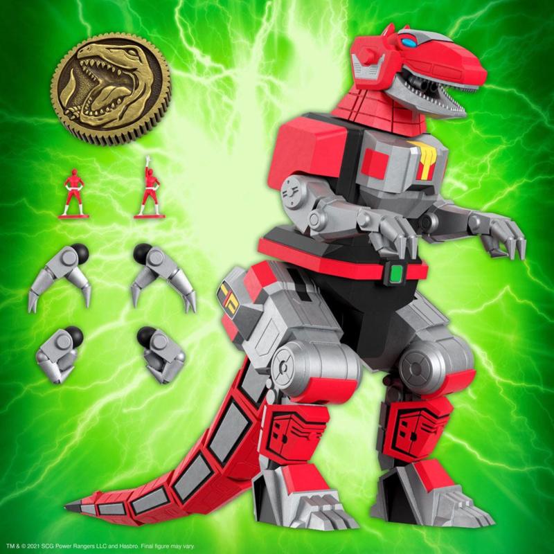 PRE-ORDER Mighty Morphin Power Rangers Ultimates Tyrannosaurus Dinozord