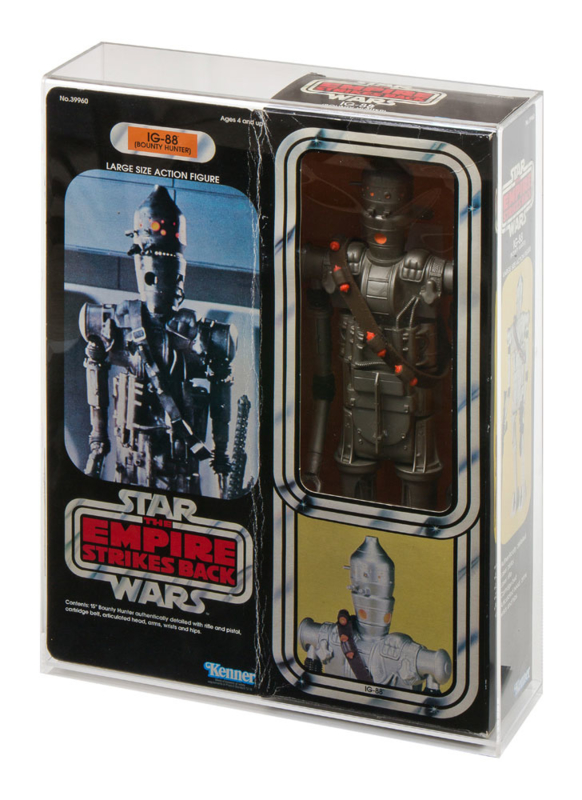 "Star Wars Boxed 12"" Display Case (Vader Fett Chewbacca IG-88)"