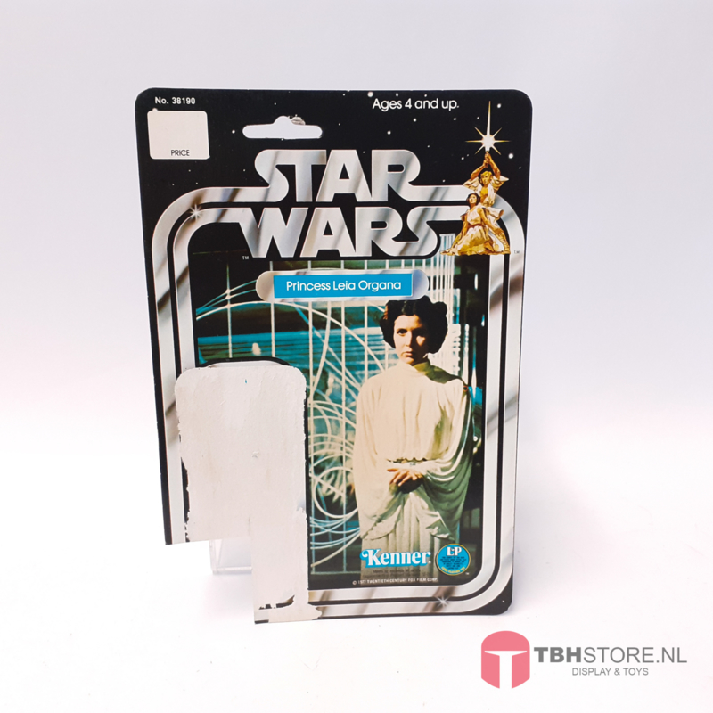 Vintage Star Wars Cardback Princess Leia Organa 20 back