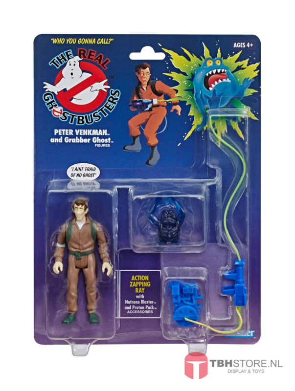 Ghostbusters Peter Venkman and Grabber Ghost