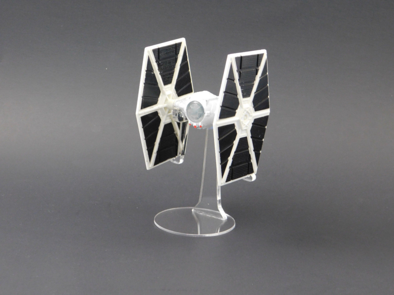 Die Cast Tie Fighter (White) Display Stand