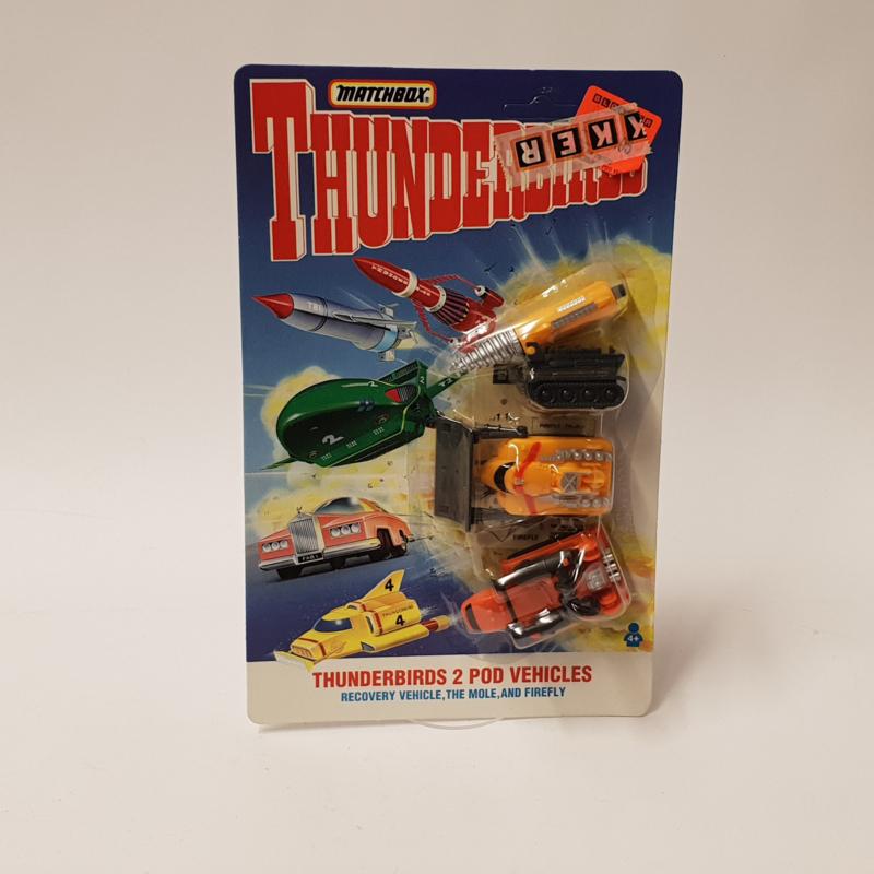 Thunderbirds 2 Pod Vehicles MOC