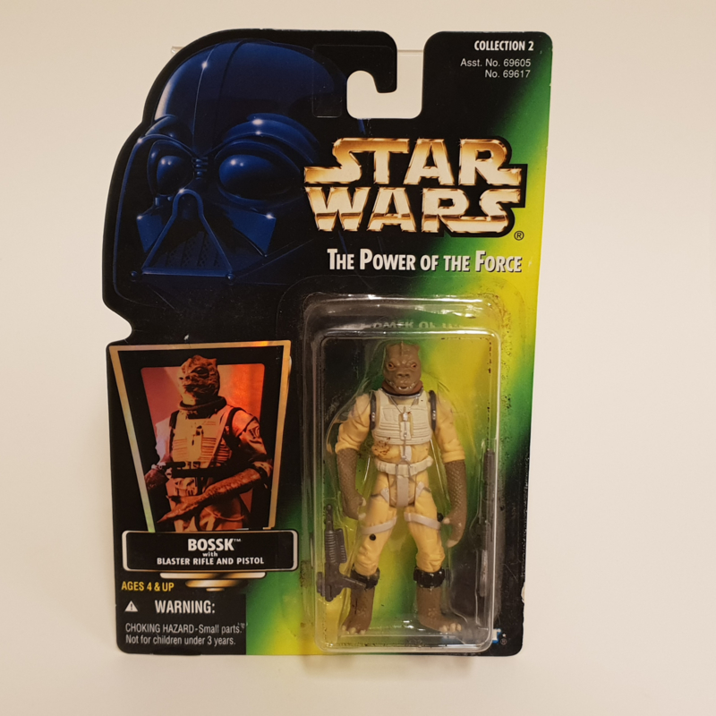 Star Wars POTF2 Green: Bossk (hologram)
