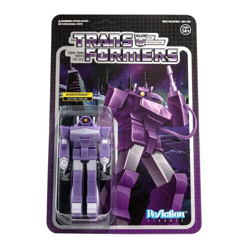 PRE-ORDER Transformers ReAction Shockwave