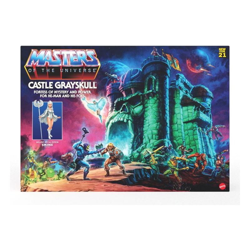 PRE-ORDER MOTU Masters of the Universe Origins 2021 Castle Grayskull