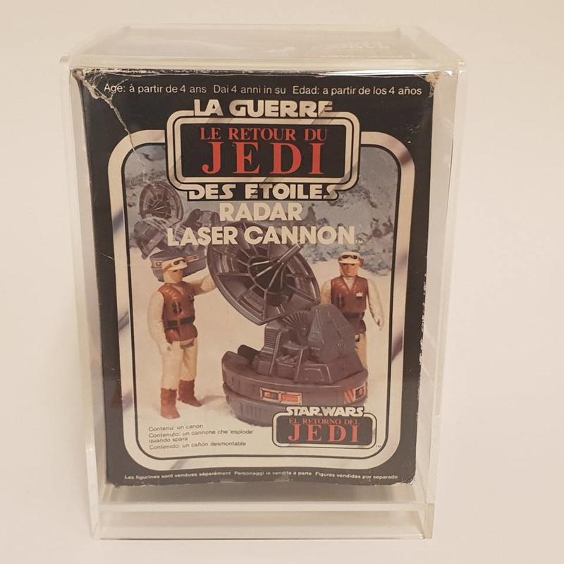 Radar Laser Cannon El Retorno Del Jedi in doos