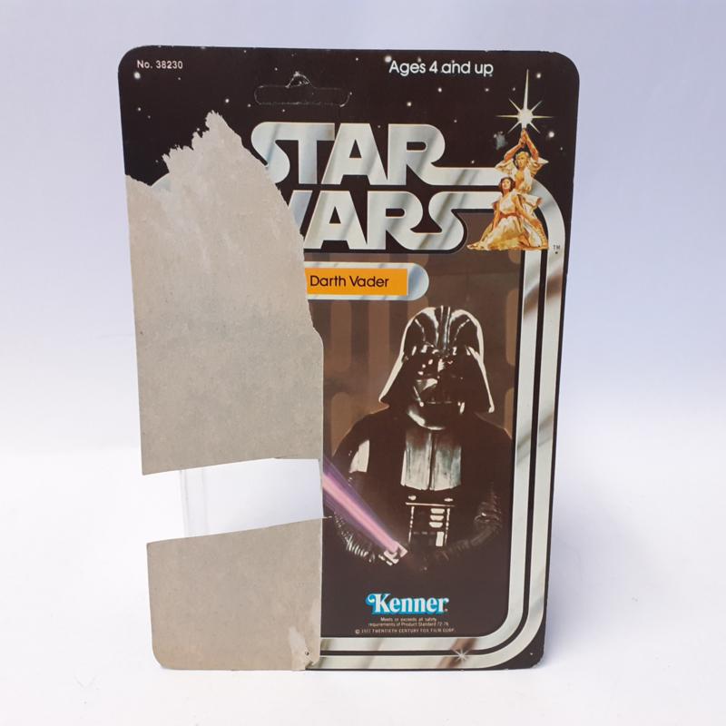 Vintage Star Wars Cardback Darth Vader 21 back