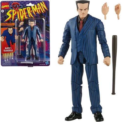 PRE-ORDER Spider-Man Retro Marvel Legends Hammerhead