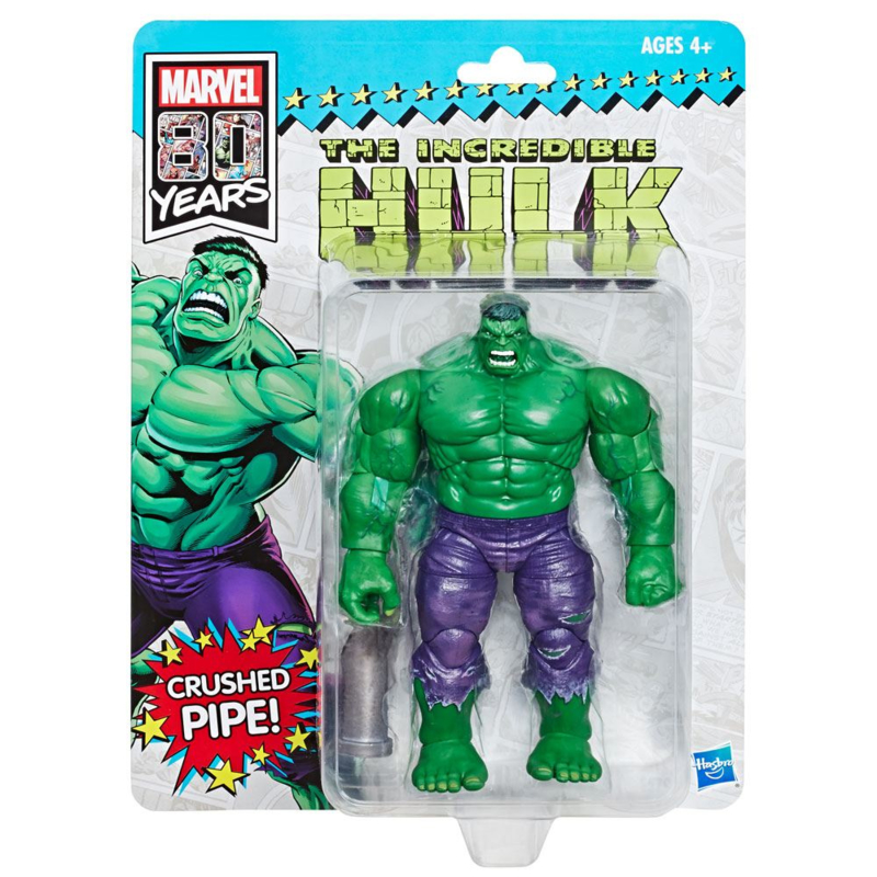 Marvel Legends 80th Anniversary Retro Hulk SDCC 2019 Exclusive