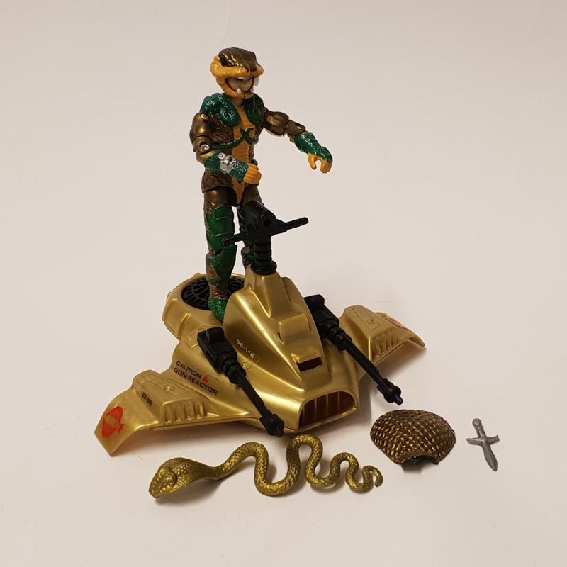 G.I. Joe Serpentor & Air Chariot (V1)