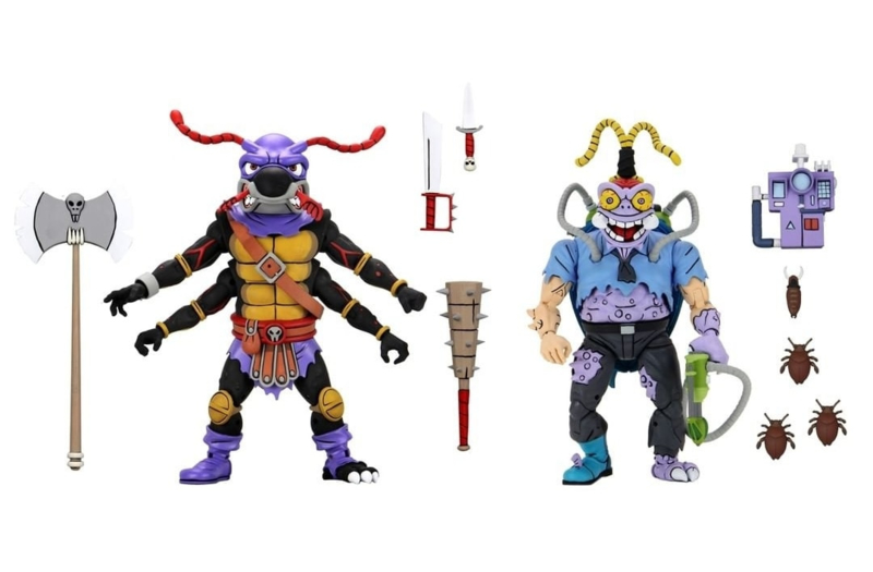 PRE-ORDER Teenage Mutant Ninja Turtles 2-Pack Antrax & Scumbug 18 cm