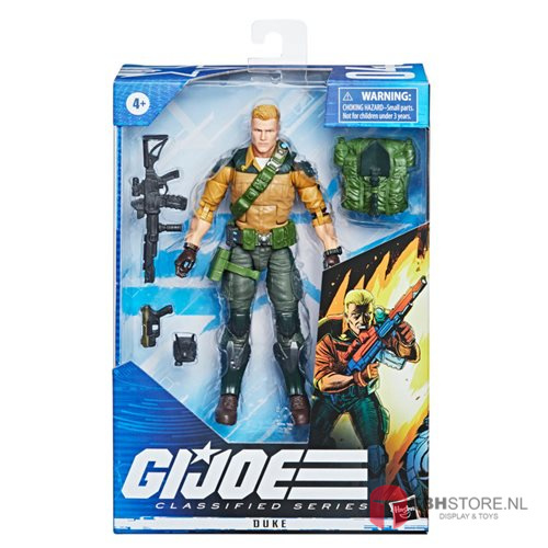 PRE-ORDER G.I. Joe Classified Series Duke (Variant)