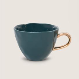 Good Morning mok blauw/groen