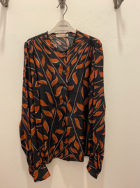 Graphic Ray Blouse