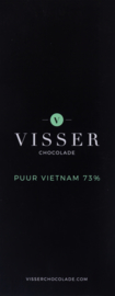 Visser Chocolade - Puur Vietnam 73%
