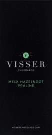 Visser Chocolade - Melk Hazelnoot Praliné
