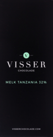 Visser Chocolade - Melk Tanzania 32%