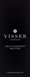 Visser Chocolade - Melk Suikervrij Maltitol