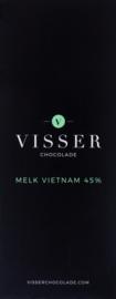 Visser Chocolade - Melk Vietnam 45%