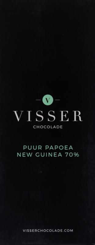 Visser Chocolade - Puur Papoea New Guinea 70%