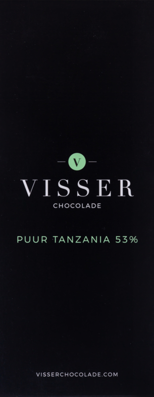 Visser Chocolade - Puur Tanzania 53%
