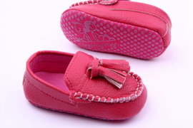 Roze bootschoen