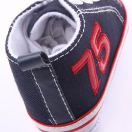 Navy blauwe sneakers
