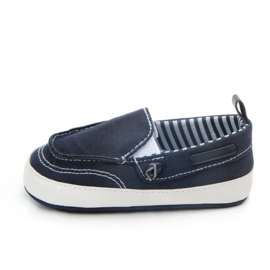 Donker blauwe bootschoentjes
