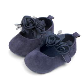 Blauwe ballerina's