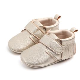 Gouden pu leren schoenen