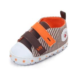 Bruin Oranje Sneakers