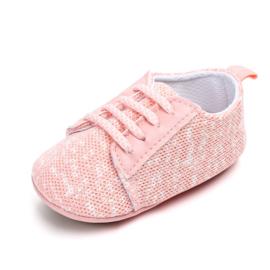 Roze sneaker