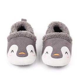 Grijze pinguïn sloffen