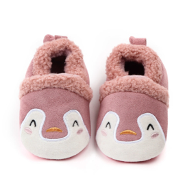 Roze pinguïn sloffen