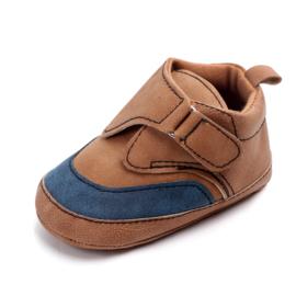 Bruine kunst-leren schoenen