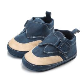 Donker blauwe kunst-leren schoenen